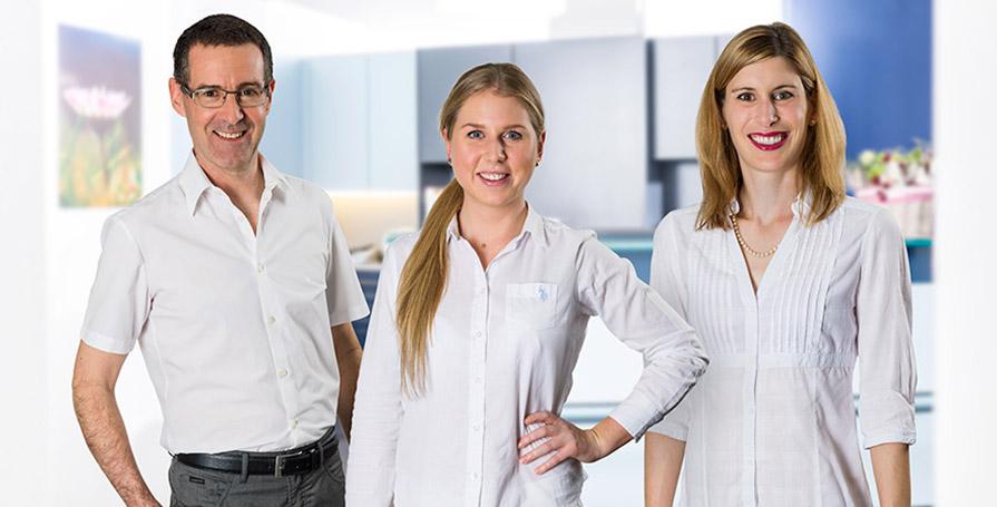 Frauenarzt Dr. med. M. Santer, MPA Livia Arnold, MPA Janine Santer